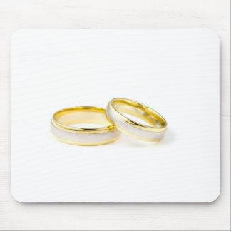 Anillos de bodas elegantes, pulidos, y con clase mouse pad