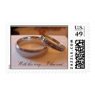 Anillos de bodas sello