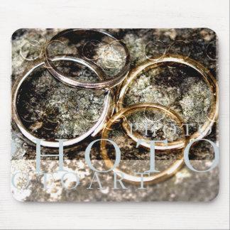anillos de bodas tapete de ratón