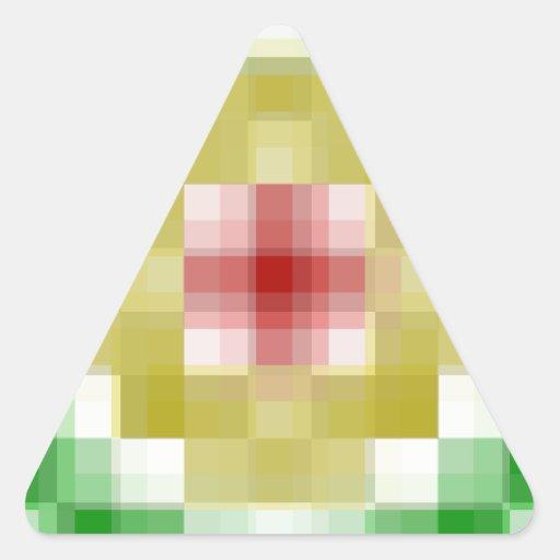 Anillos de Digitaces Rasta Pegatina Triangular
