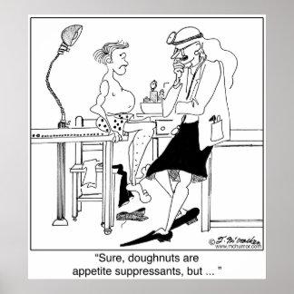 Anillos de espuma como Suppressants de apetito Poster