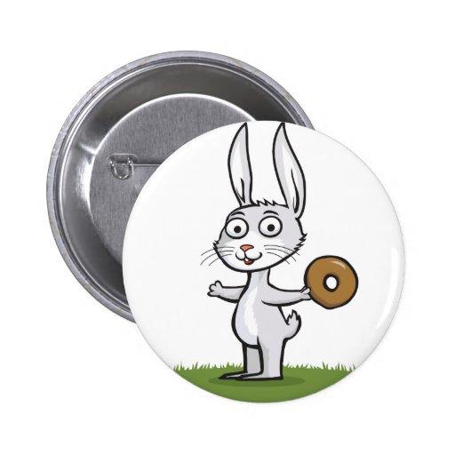 Anillos de espuma del conejo pin
