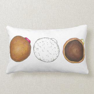 Anillos de espuma para la almohada llenada