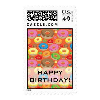 Anillos de espuma sellos postales