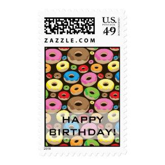 Anillos de espuma timbres postales