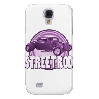 anillos de la púrpura de la barra de la calle
