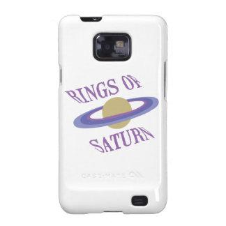 Anillos de Saturn Samsung Galaxy SII Fundas