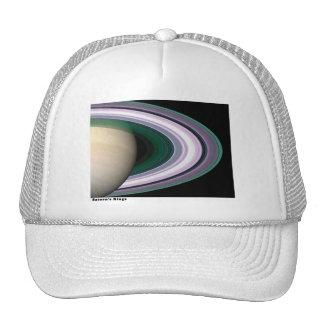 Anillos de Saturns Gorros Bordados