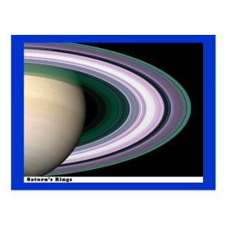 Anillos de Saturns Postales