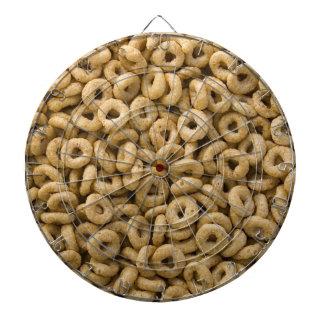 Anillos del cereal de desayuno tablero dardos
