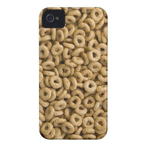 Anillos del cereal de desayuno iPhone 4 funda