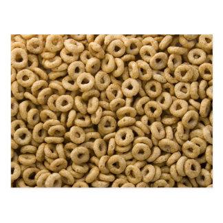 Anillos del cereal de desayuno postales