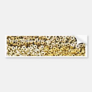 Anillos del cereal del trigo del arroz de la avena pegatina de parachoque