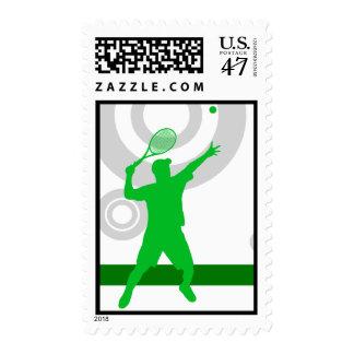 anillos del tenis sellos postales