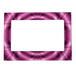 Anillos rosados marcos magneticos