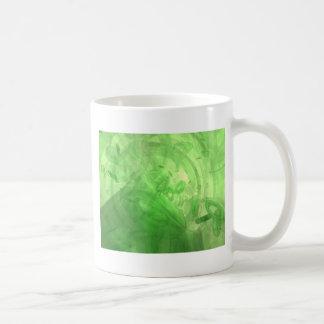 Anillos verdes taza clásica