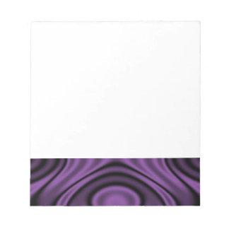 Anillos y ondulaciones púrpuras bloc