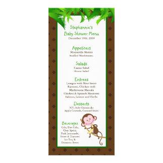 Anima del parque zoológico del safari de selva del diseños de tarjetas publicitarias