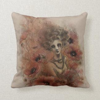Anima Sola Dark Fantasy Art Pillow