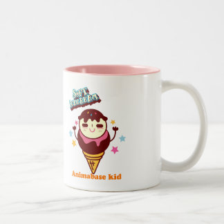 Animabase soft icecream kid mug