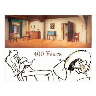 Animación Background (1979) del dibujo animado de Postal