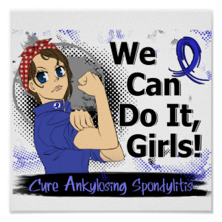 Animado WCDI de Rosie Ankylosing Spondylitis Póster