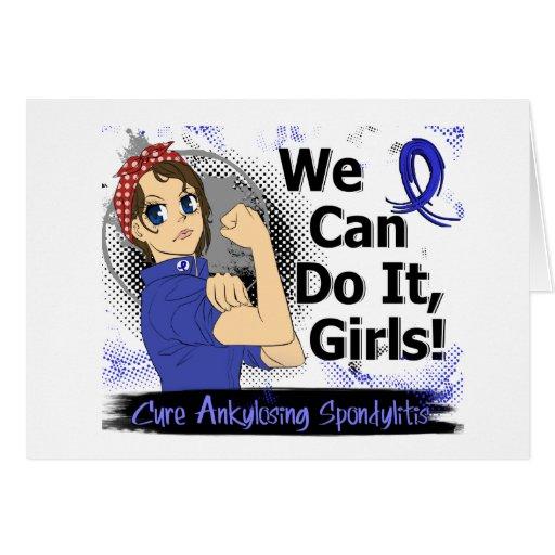 Animado WCDI de Rosie Ankylosing Spondylitis Tarjeton
