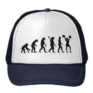 Animadora de la evolución gorra