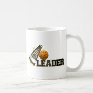 Animadora del baloncesto tazas de café