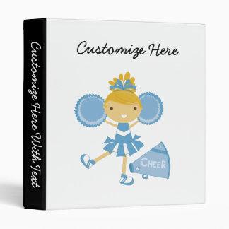 """Animadora en azul carpeta 1"""""""