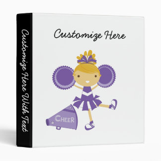 Animadora en púrpura