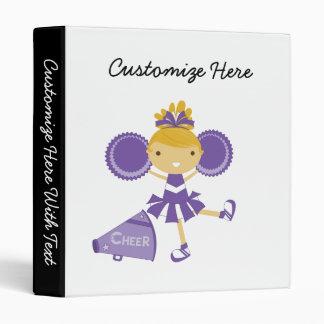 "Animadora en púrpura carpeta 1"""