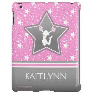 Animadora entre las estrellas en rosa con SU Funda Para iPad