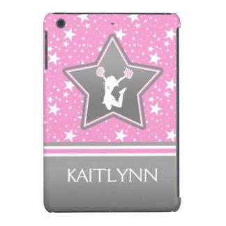 Animadora entre las estrellas en rosa con SU Fundas De iPad Mini Retina