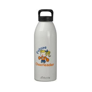 Animadora futura botella de agua
