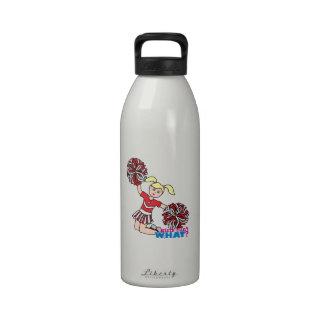 Animadora - luz/Blonde Botella De Agua