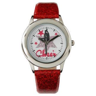 Animadora roja de Allstar Reloj De Mano