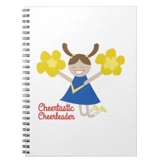 Animadoras de Cheertastic Cuaderno