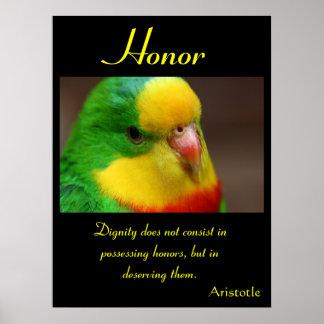 Animal 15 de los posters del honor