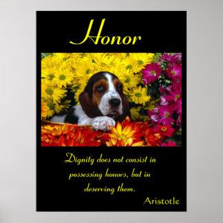Animal 16 de los posters del honor