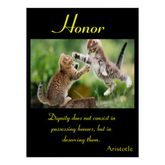 Animal 17 de los posters del honor