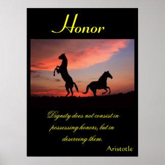 Animal 1 de los posters del honor