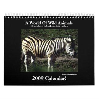Animal 2009 Calendar