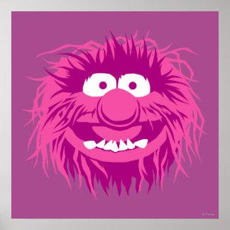 Animal 2 de los Muppets Poster