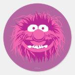 Animal 2 de los Muppets Pegatinas Redondas