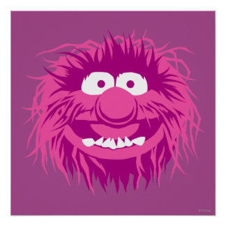 Animal 2 de los Muppets Póster