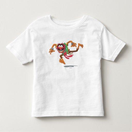 Animal 3 del día de fiesta t shirt