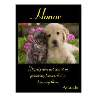 Animal 4 de los posters del honor