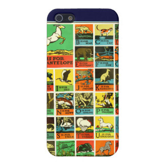 Animal abc alphabet Chart  teachers and learners Cover For iPhone SE/5/5s