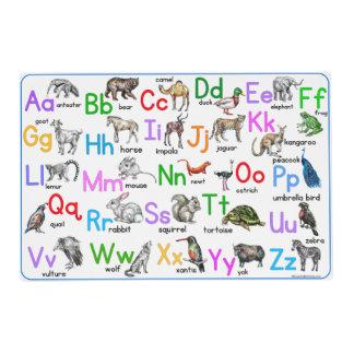 Animal ABC Placemat